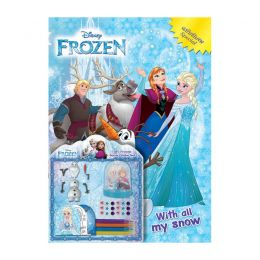 FROZEN Special With all my snow + DIY Snow Globe Set